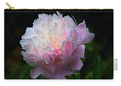 Rain-kissed Peony Carry-all Pouch