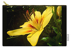 Rain Kissed Tiger Lily Carry-all Pouch