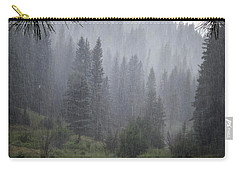 Rain Lovely Rain Carry-all Pouch by Mary Lee Dereske