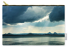Rain On The Glass Mountains Carry-all Pouch