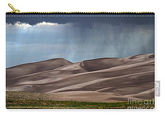 Rain On The Great Sand Dunes Carry-all Pouch