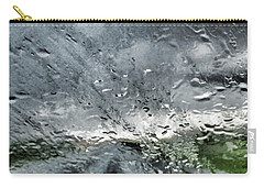 Rain On The Windshield Carry-all Pouch