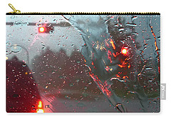 Carry-all Pouch featuring the photograph Rain by Rhonda McDougall