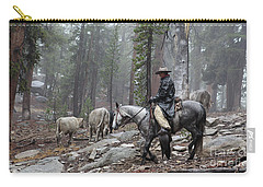 Rain Riding Carry-all Pouch by Diane Bohna