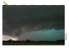 Rain-wrapped Tornado Carry-all Pouch
