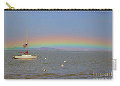 Carry-all Pouch featuring the photograph Rainbow by Amazing Jules
