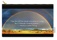 Martin Luther King - Justice Carry-all Pouch