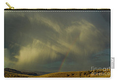 Rainbow And White Light-signed-#9456 Carry-all Pouch