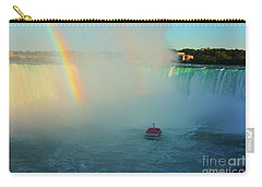 Rainbow At Horseshoe Falls Carry-all Pouch