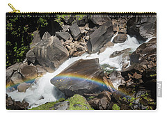 Rainbow At Vernal Falls- Carry-all Pouch
