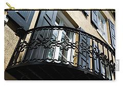Rainbow Balcony Carry-all Pouch by Ed Waldrop