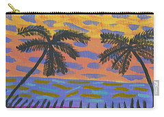 Rainbow Beach Carry-all Pouch by Artists With Autism Inc
