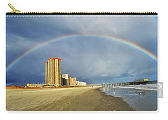 Rainbow Beach Carry-all Pouch by Kelly Reber