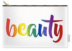 Rainbow Beauty Carry-all Pouch