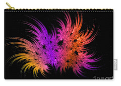 Rainbow Bouquet Carry-all Pouch by Geraldine DeBoer