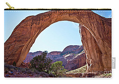 Rainbow Bridge Carry-all Pouch by Kathy McClure
