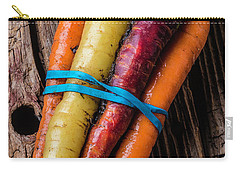 Rainbow Carrots Carry-all Pouch by Garry Gay