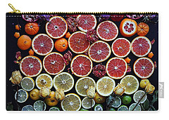 Rainbow Citrus Etc Carry-all Pouch