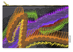 Rainbow Currents Carry-all Pouch