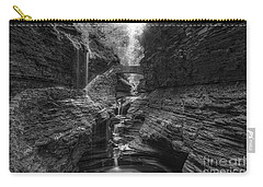 Rainbow Falls Bw Carry-all Pouch