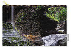 Carry-all Pouch featuring the photograph Rainbow Falls by Edgars Erglis