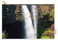 Carry-all Pouch featuring the photograph Rainbow Falls I by Patricia Griffin Brett