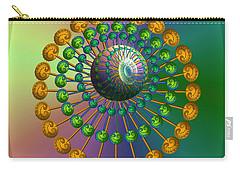 Rainbow Fractal Carry-all Pouch