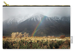 Rainbow In Eastern Sierra Nevadas Carry-all Pouch