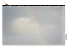 Rainbow In The Skies Of Aruba Carry-all Pouch by DejaVu Designs