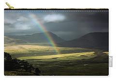 Rainbow In The Valley Carry-all Pouch by Andrew Matwijec