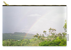 Rainbow In Villalba, Puerto Rico Carry-all Pouch