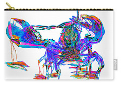 Rainbow Lobster On Acid Carry-all Pouch