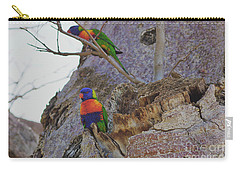 Rainbow Lorikeets Xiii Carry-all Pouch