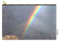 Rainbow Meets Mather Point Carry-all Pouch