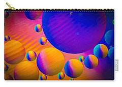 Rainbow Moons Abstract Carry-all Pouch