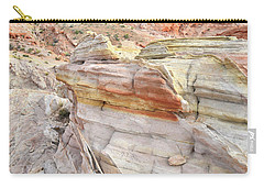 Rainbow Of Color At Valley Of Fire Carry-all Pouch
