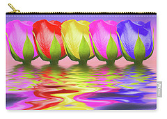 Rainbow Of Roses II Carry-all Pouch