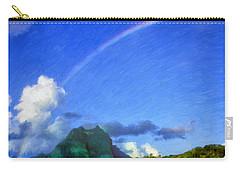Rainbow Over Bora Bora Carry-all Pouch