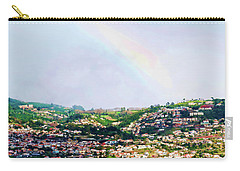 Rainbow Over Funchal Carry-all Pouch