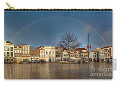 Rainbow Over Market Place Gouda Carry-all Pouch