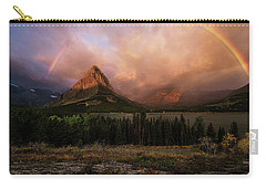 Rainbow Over Mt Gould Carry-all Pouch