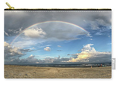 Rainbow Over Ocean Carry-all Pouch