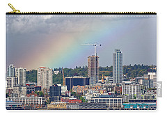Rainbow Over Seattle Carry-all Pouch