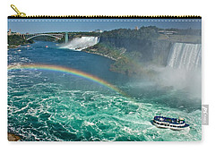 Rainbow Over The Falls Carry-all Pouch