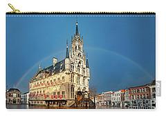 Rainbow Over Town Hall Gouda Carry-all Pouch
