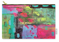 Rainbow Rain Carry-all Pouch by Tamara Savchenko