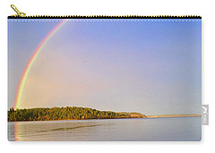 Rainbow Reflection Carry-all Pouch by Sean Griffin