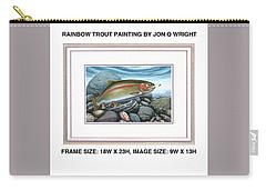 Rainbow Run Carry-all Pouch