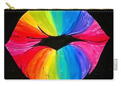 Rainbow Smooch Carry-all Pouch