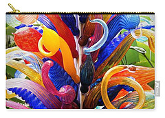 Rainbow Spirals Carry-all Pouch